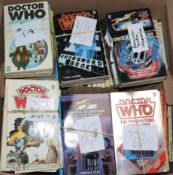 Doctor Who - Target Book Series, numbers 1-156, and extra Target related books, duplicates of
