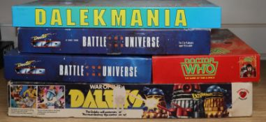 Doctor Who - vintage games and collectables - The Game of Time & Space, Games Workshop Ltd, c.
