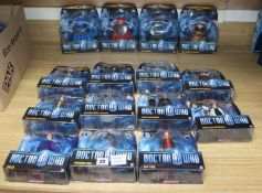 Doctor Who - Character Options - poseable action figures; with characters from series 5 carded