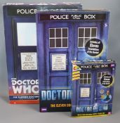 Doctor Who - Character Options - three figure sets; the thirteen Doctors figure set 06292, the