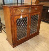 A Regency mahogany chiffonier W.97.5cm