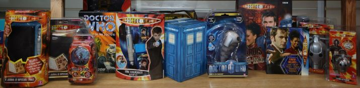 Doctor Who - Character Options etc. - ninth Doctor onwards toys and collectables