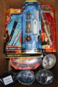Doctor Who - Character Options - sonic screwdriver sets and Nano-Recorder model no.s 04005, 01635,