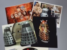 Doctor Who - Classic TV series up to 11th Doctor - four albums of signed photographs of members of