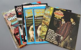 Doctor Who Magazine (DWM), special editions and issues, 1977-2019, see Gorringes website condition
