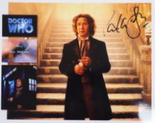 Doctor Who - Classic TV series up to 11th Doctor - five albums of signed photographs of members of