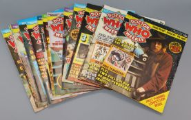 Doctor Who magazine (DWM), 1979 - 1984 - Marvel Comics, Doctor Who Weekly issues 1-43 and Doctor Who