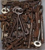 A collection of mixed keys