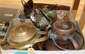 A quantity of mixed metal wares