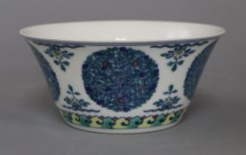 A Chinese doucai bowl height 15.5cm