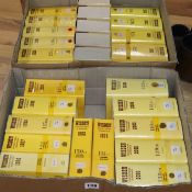 A collection of Wisden Almanacks from years 1977-2005 excluding 1995 (28)