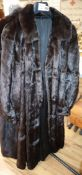 A full mink coat