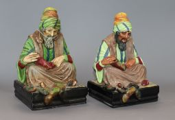 Two Royal Doulton figures - The Cobbler HN 1704-06 height 21cm