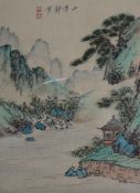 A group of assorted unframed Chinese drawings and prints