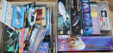 Star Trek - Revell, Micromachines, Monogram, Polar lights etc. scale models, all boxed including