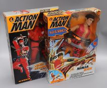 Action Man - Hasbro action figures, Boxed (6)