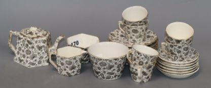 A 19th century Ridgway part tea service (23)