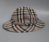 A Burberry hat