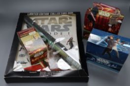 Star Wars - Amt Ertl - Jabba The Hutt Throne Room, TIE Fighter Flight Display - Lego and other