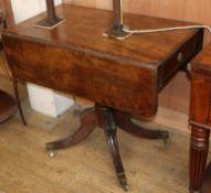 A Regency mahogany Pembroke breakfast table W.86cm