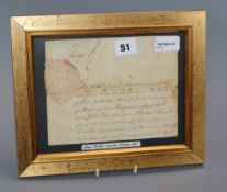 Royal Interest - a collection of ephemera, including a Royal Pardon signed by George II, a Royal