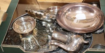 A group of plated wares