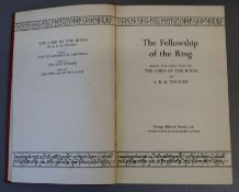 Tolkien, John Ronald Revel - The Lord of the Rings, 1st edition - 4th impression of Fellowship,