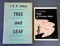 Tolkien, John Ronald Revel - Tree and Leaf, 2nd impression, in d.j., with facsimilie signature to
