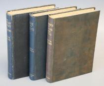 Symons, Arthur - 3 works - The Symbolist Movement in Literature, 8vo, cloth, William Heinemann,
