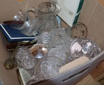 A quantity of glassware and ceramics
