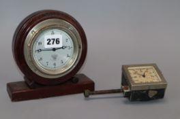 Two Smiths car clocks