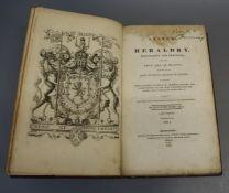 Nisbet, Alexander - A System of Heraldry Speculative and Practical, 2 vols, folio, rebound, half