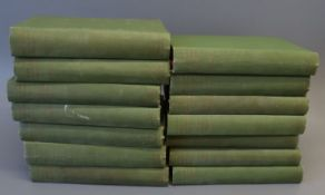 "Trollope, Anthony - Works ""Barsetshire Novels', 14 vols, 8vo, green cloth, limited to 525, edited by"