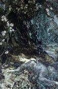 Shakespeare, William - A Midsummer-Nights Dream, illustrated by Arthur Rackham, qto, vellum gilt,