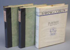 Golden Cockerel Press. Brantome, Pierre de Bourdeille - The Lives of Gallant Ladies, illustrated
