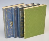 Yeats, William Butler - 4 works - Responsibilities and other Poems, 8vo, blue cloth, gilt
