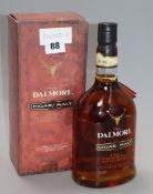 One boxed Dalmore Cigar Malt Scotch Whisky