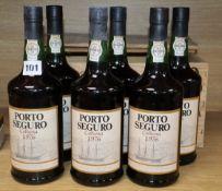 Six bottles of Pocas Porto Seguro Port, 1976