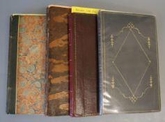 BYRON - 4 works: Byron, George Gordon Noel, Lord - The Bridge of Abydos, 4th edition, 8vo, half