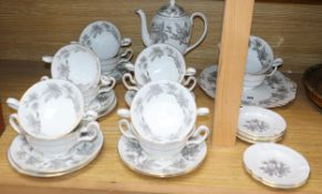 A part service of Wedgwood Ashford dinner and teaware