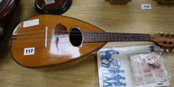 A mid 20th century Italian mandolin