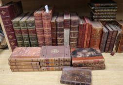 A quantity of assorted Victorian and later decorative bindings