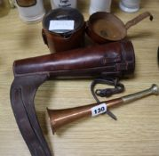 Sundry equestrian items