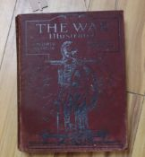 Eight volumes of The War, illustrated