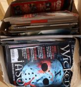 Monster & Hammer horror magazines, movie magazines and Radio Times