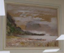 Cecil Arthur Hunt (1873-1965), watercolour, 'Buttermere', signed