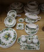 A quantity of Masons Ironstone 'Strathmore' pattern tableware
