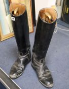 A pair of black Cavallo riding boots, size 7