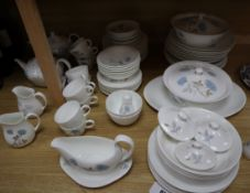 A quantity of Wedgwood 'Ice Rose' pattern tableware
