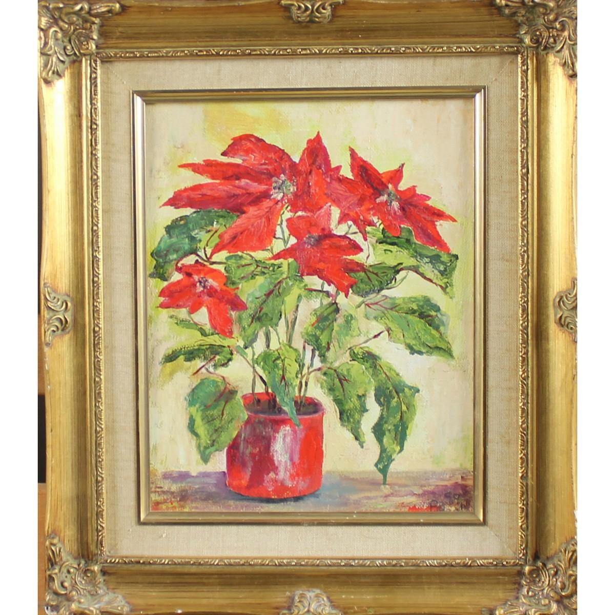 Lot 47 - Beal, Brenda Twentieth Century British AR, Poinsettia
